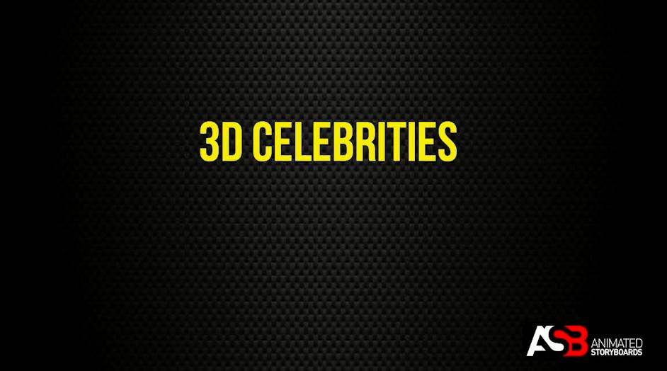 Asia 3D Celebrities